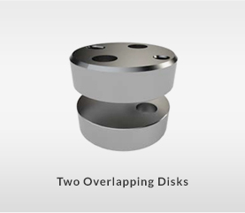 MDQ Series - Two Overlapping Disks